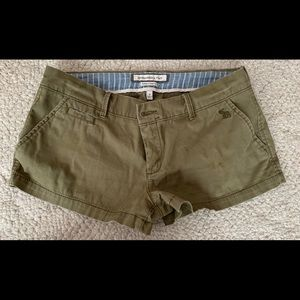 Abercrombie and Fitch Khaki Shorts